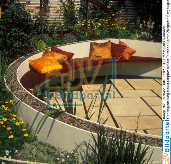 Details zu 0003170451 gartengestaltung mauer sitzplatz for Gartengestaltung mauer
