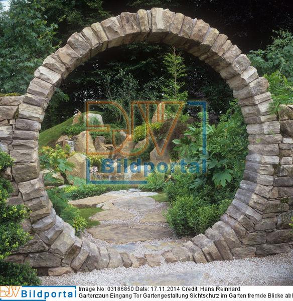 Details Zu #0003186850 - Gartengestaltung Sichtschutz Im Garten