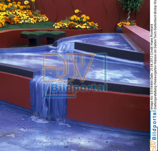 details zu #0003158484 - gartengestaltung wassergarten wasser im, Gartenarbeit ideen