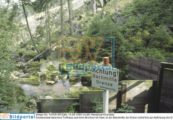 Innerdeutsche Grenze Harz
