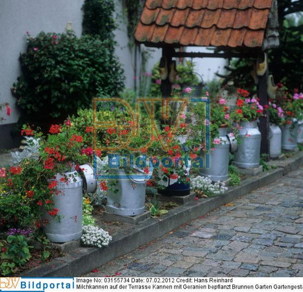... Brunnen Garten Gartengestaltung Bauerngarten Rustikale Ideen Für Den  Garten. Bild No. 0003155734