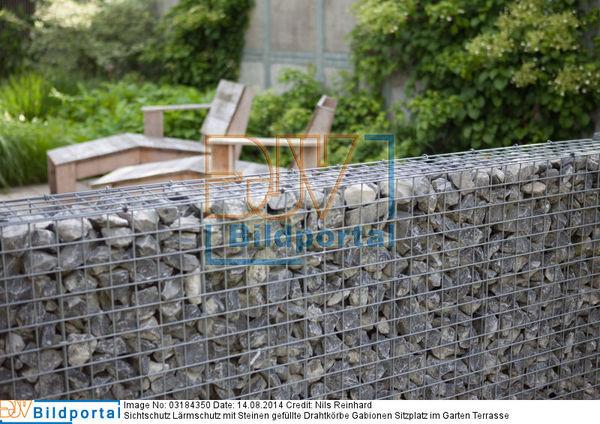 Details Zu 0003184350 Sichtschutz Larmschutz Mit Steinen