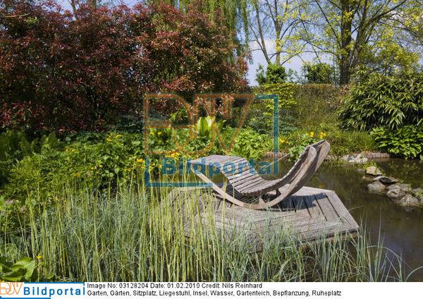details zu 0003128204 sitzplatz insel im gartenteich. Black Bedroom Furniture Sets. Home Design Ideas
