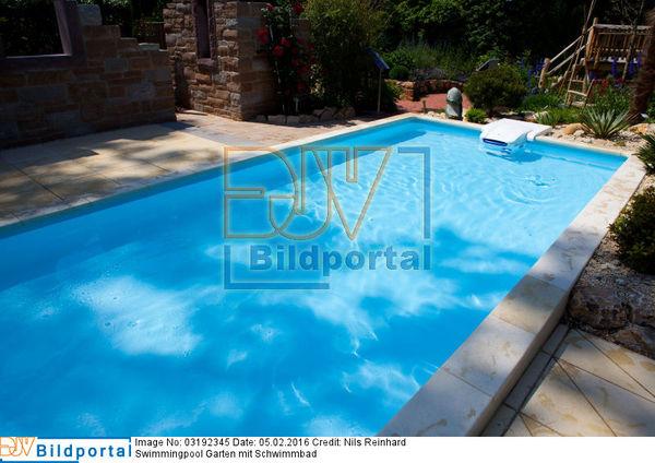 Details zu #0003192345 - Swimmingpool Garten mit Schwimmbad - DJV ...