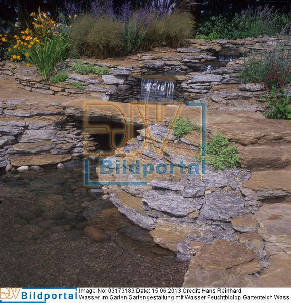 Details zu 0003173183 wasser im garten gartengestaltung - Gartenteich wasserlauf ...