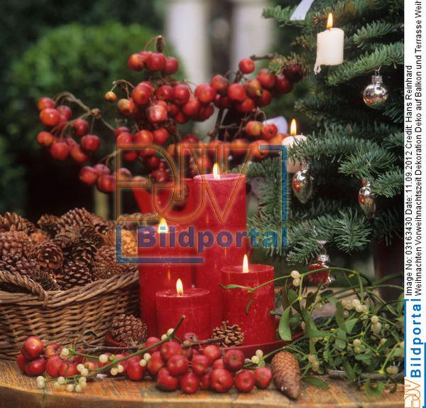 details zu 0003163430 weihnachten vorweihnachtszeit dekoration deko auf balkon und terrasse. Black Bedroom Furniture Sets. Home Design Ideas