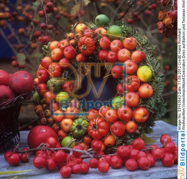 Details zu 0003163643 weihnachten vorweihnachtszeit dekoration deko auf balkon und terrasse - Balkon deko weihnachten ...
