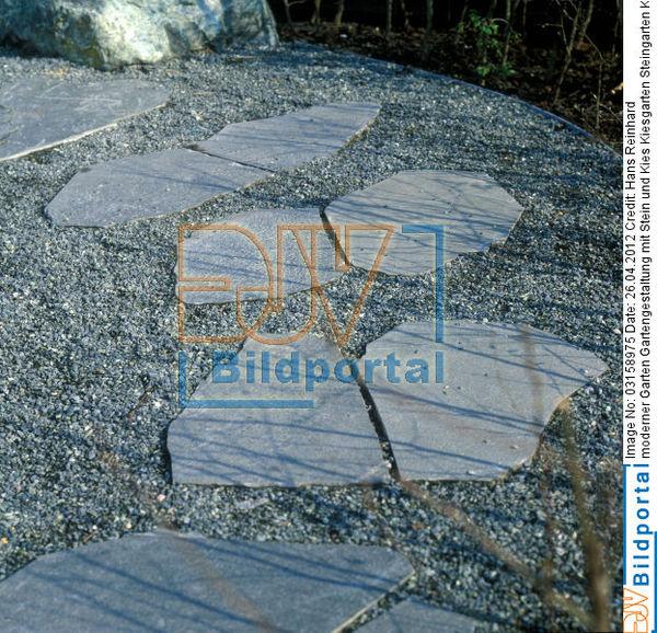 Details zu 0003158975 moderner garten gartengestaltung for Moderner kiesgarten