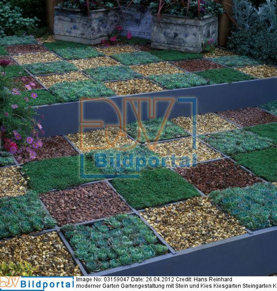 Details Zu 0003159047 Moderner Garten Gartengestaltung Mit Stein